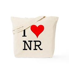 I Love NR Tote Bag