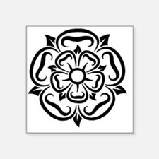 "rose of yorkshire lancashir Square Sticker 3"" x 3"""