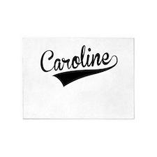 Caroline, Retro, 5'x7'Area Rug