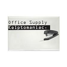 Office Supply Kleptomaniac Rectangular Magnet