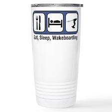 Funny Wakeboarding Travel Mug