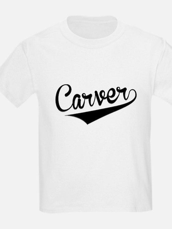 Carver, Retro, T-Shirt