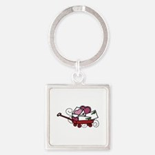 Love Letters In Wagon Keychains