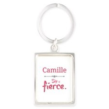 Camille is fierce Keychains