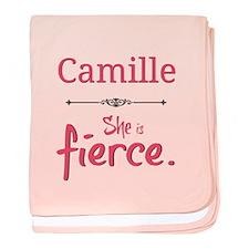 Camille Is Fierce Baby Blanket