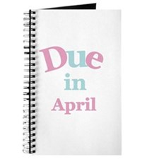 Pink Due in April Journal