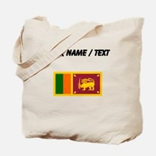 Custom Sri Lanka Flag Tote Bag