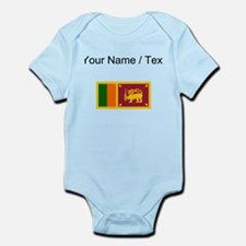 Custom Sri Lanka Flag Body Suit