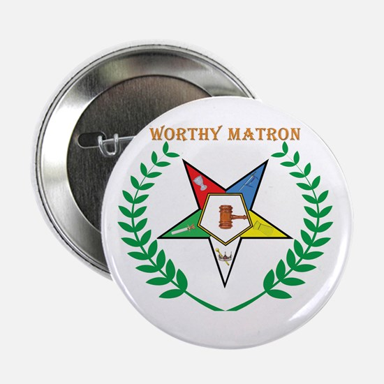 OES Worthy Matron Button
