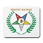 OES Worthy Matron Mousepad