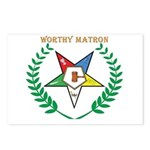 OES Worthy Matron Postcards (Package of 8)