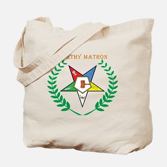 OES Worthy Matron Tote Bag