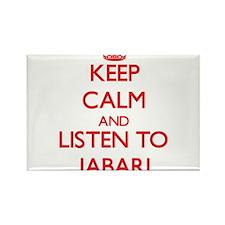 Keep Calm and Listen to Jabari Magnets