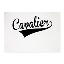 Cavalier, Retro, 5'x7'Area Rug