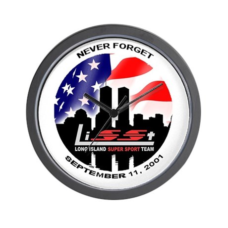 September 11th Wall Clock