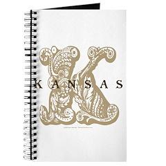 Kansas Floral K Logo Journal