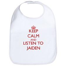 Keep Calm and Listen to Jaiden Bib