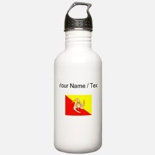 Custom Sicily Flag Water Bottle