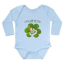 A Wee Bit Irish Long Sleeve Infant Bodysuit