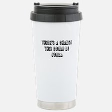 Could be Vodka Travel Mug