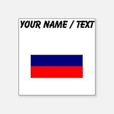 Custom Russia Flag Sticker