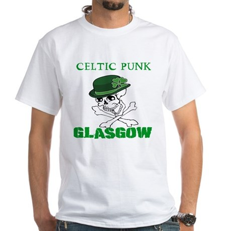 Celtic Punk Glasgow T-Shirt by NTVTees
