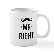 Mr right mustache Mugs