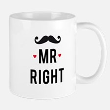 Mr right mustache Mugs
