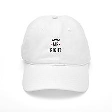Mr right mustache Baseball Baseball Cap