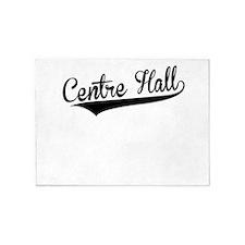 Centre Hall, Retro, 5'x7'Area Rug