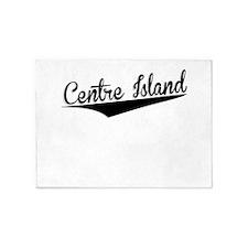 Centre Island, Retro, 5'x7'Area Rug