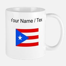 Custom Puerto Rico Flag Mugs