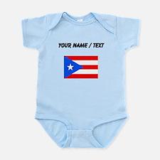 Custom Puerto Rico Flag Body Suit
