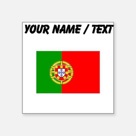 Custom Portugal Flag Sticker