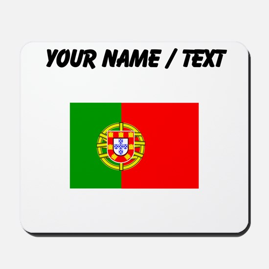 Custom Portugal Flag Mousepad
