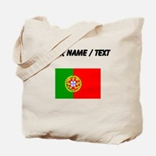 Custom Portugal Flag Tote Bag