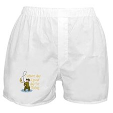 Personalizable-A Great day For Fishin Boxer Shorts