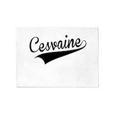 Cesvaine, Retro, 5'x7'Area Rug