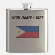 Custom Philippines Flag Flask