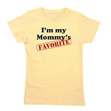 Im My Mommys Favorite Girl's Tee