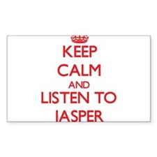 Keep Calm and Listen to Jasper Decal