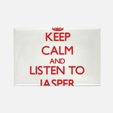 Keep Calm and Listen to Jasper Magnets