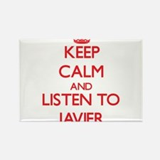 Keep Calm and Listen to Javier Magnets