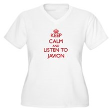 Keep Calm and Listen to Javion Plus Size T-Shirt