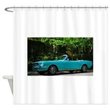 Classic Mustang Convertible Shower Curtain