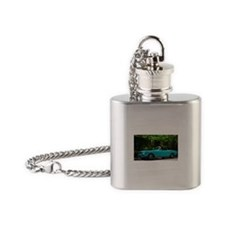 Classic Mustang Convertible Flask Necklace