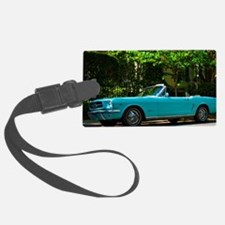 Classic Mustang Convertible Luggage Tag