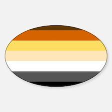 Classic Bear Pride Flag Decal