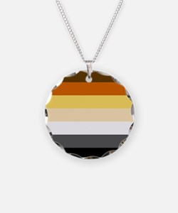 Classic Bear Pride Flag Necklace