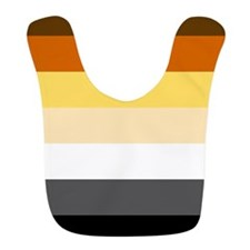 Classic Bear Pride Flag Bib